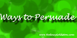 ways to persuade