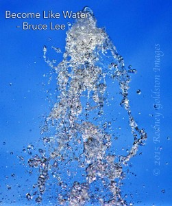 become like water bruce lee quote